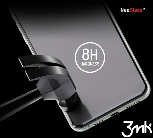 Hybridní sklo 3mk NeoGlass pro Samsung Galaxy A52 4G/5G, černá