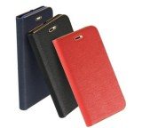 Pouzdro Forcell Luna Book pro Xiaomi Redmi Note 10, Note 10S, černá