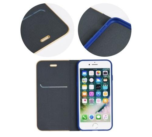 Pouzdro Forcell Luna Book pro Apple iPhone 7, 8, SE (2020) modrá