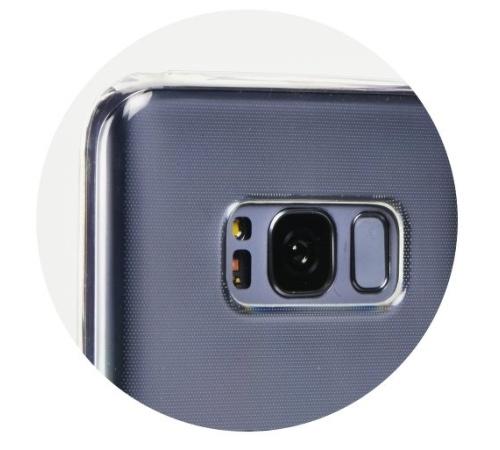 Kryt ochranný Roar pro Samsung Galaxy Xcover 5 (SM-G525) transparent