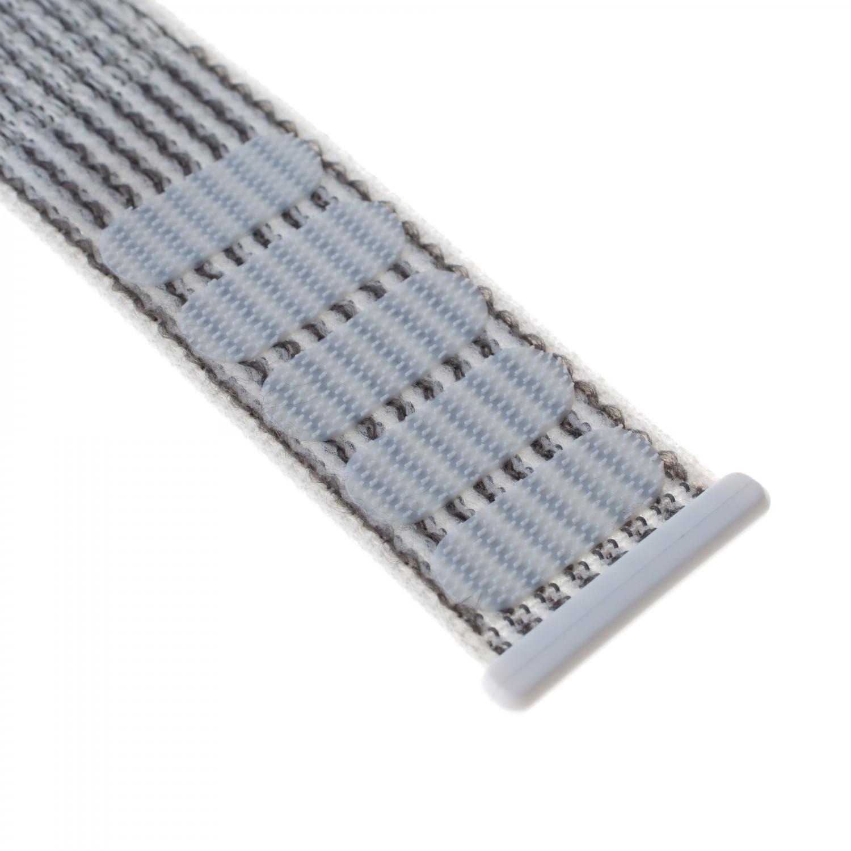 Nylonový řemínek FIXED Nylon Strap pro Apple Watch 44mm/ Watch 42mm, bílý