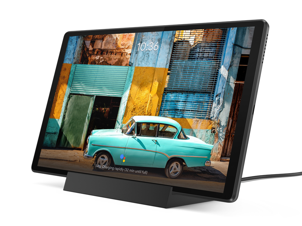 Lenovo TAB M10 Plus 4GB/128GB WiFi s dockem šedá