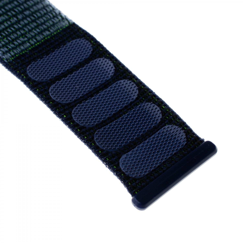 Nylonový řemínek FIXED Nylon Strap pro Apple Watch 44mm/ Watch 42mm, temně modrý