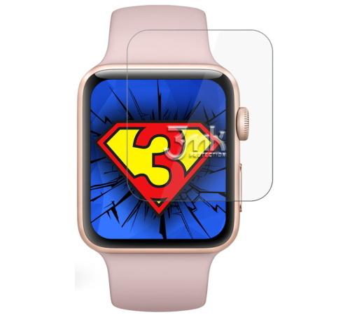Fólie ochranná 3mk Watch pro Apple Watch 3  38mm (3ks)