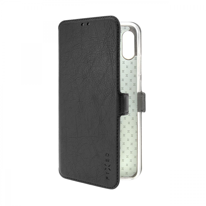 FIXED Topic flipové pouzdro pro Nokia C1 Plus, černá