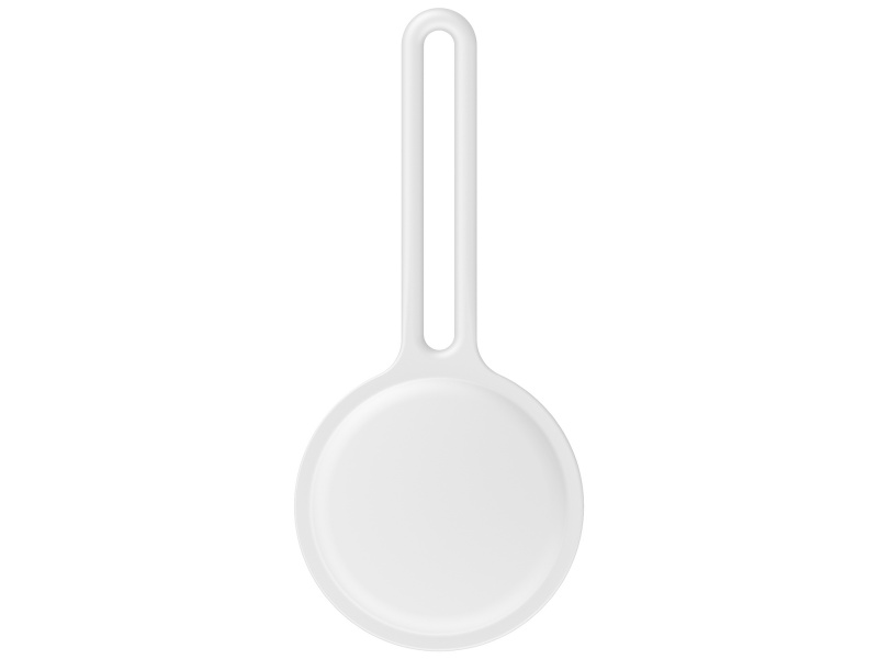 Silicone Protective Side Cover for Apple AirTag White (Bulk)