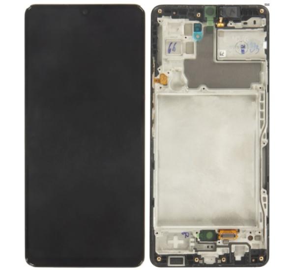 ND Samsung A426 Galaxy A42 5G, LCD modul, black/černá (Service Pack)