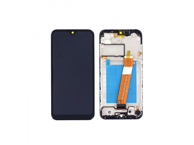 Samsung Galaxy A02s A025 LCD + Touch Black(Service Pack)