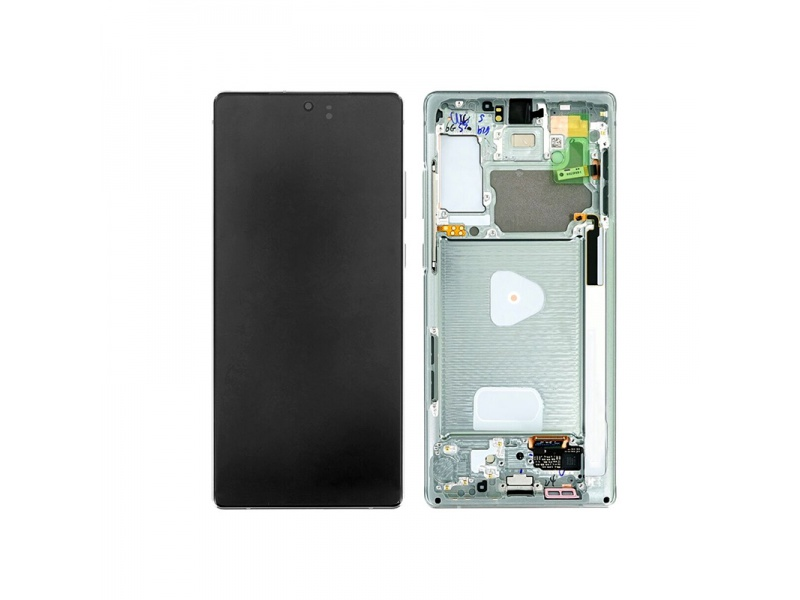 Samsung Galaxy Note20 N980 LCD + Touch + Frame Mystic Green (Service Pack)