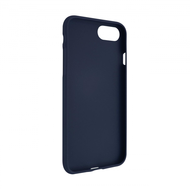 Zadní pogumovaný kryt FIXED Story pro Motorola Moto E7 Plus, modrá