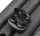 HF, sluchátka Bluetooth HOCO ES35 Breezy stereo, nabíjecí pouzdro, černá