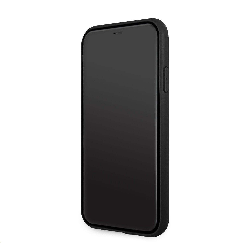 Zadní kryt Guess PU Saffiano Big 4G Metal Logo GUHCN61SA4GGBK pro Apple iPhone 11, černá