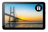"""iGET Smart L203C 10.1"""" 3GB/32GB šedá + flip.pouzdro"""