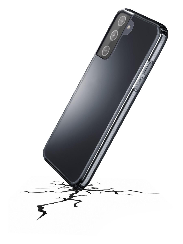 Zadní kryt Cellularline Clear Duo pro Samsung Galaxy S21, transparentní