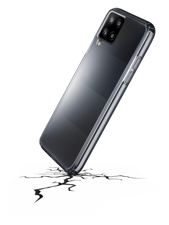 Zadní kryt Cellularline Clear Duo pro Samsung Galaxy A42 5G, transparentní