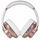 Bluetooth sluchátka EVOLVEO SupremeSound 8EQ s reproduktorem a ekvalizérem 2v1, růžová
