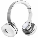 Bluetooth sluchátka EVOLVEO SupremeSound 8EQ s reproduktorem a ekvalizérem 2v1, stříbrná