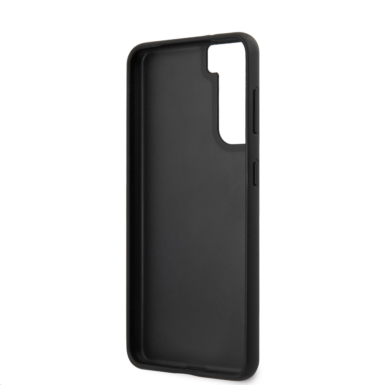 Karl Lagerfeld Saffiano K&C Heads kryt Samsung Galaxy S21+, černá