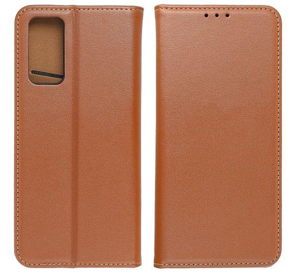 Flipové pouzdro Forcell SMART PRO pro Samsung Galaxy S21, hnědá
