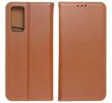 Flipové pouzdro Forcell SMART PRO pro Samsung Galaxy A12, hnědá