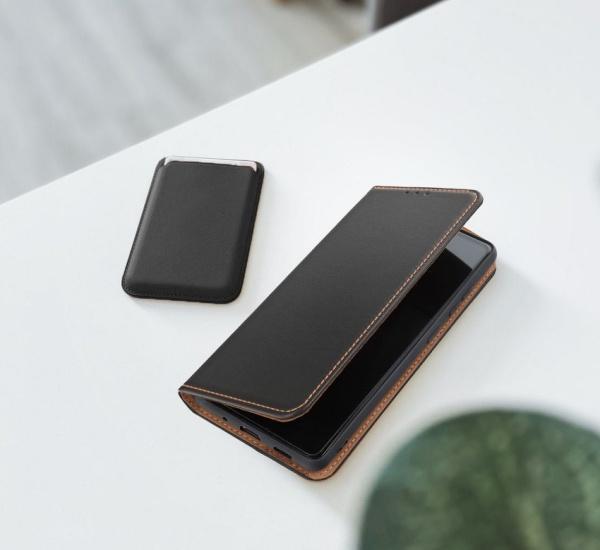 Flipové pouzdro Forcell SMART PRO pro Apple iPhone X, černá
