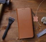 Flipové pouzdro Forcell SMART PRO pro Apple iPhone 12/12 Pro, hnědá