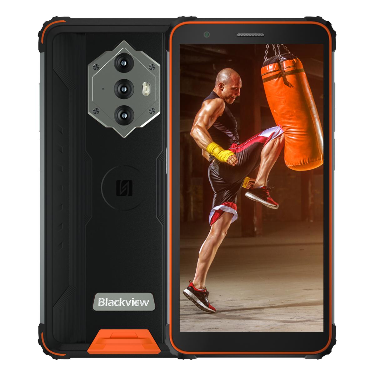 iGET Blackview GBV6600 4GB/64GB oranžová