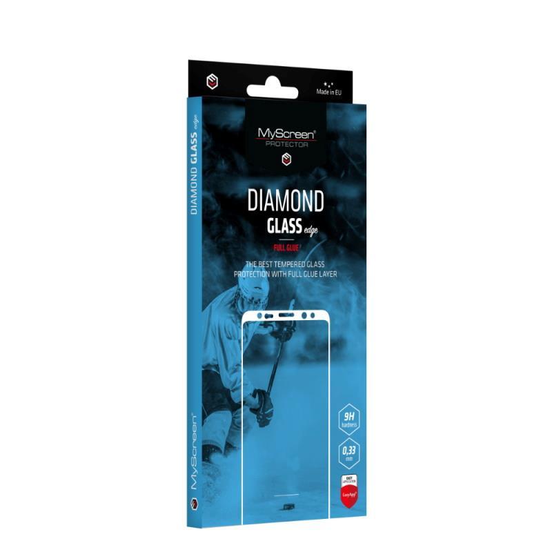 Ochranné sklo MyScreen Diamond Glass Edge FullGlue pre Samsung Galaxy A22 5G, čierna