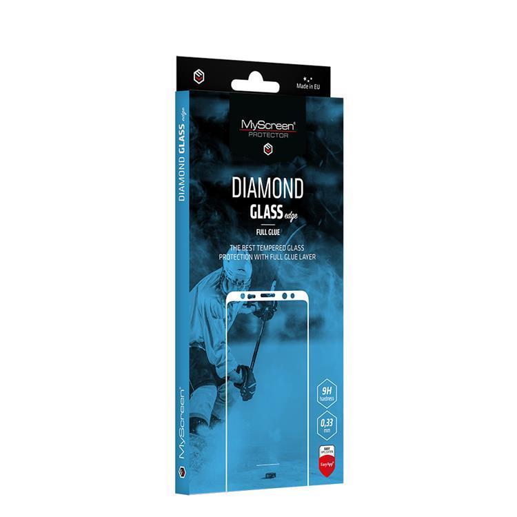 Ochranné sklo MyScreen Diamond Glass Edge FullGlue pre Samsung Galaxy A32 / A32 5G, čierna