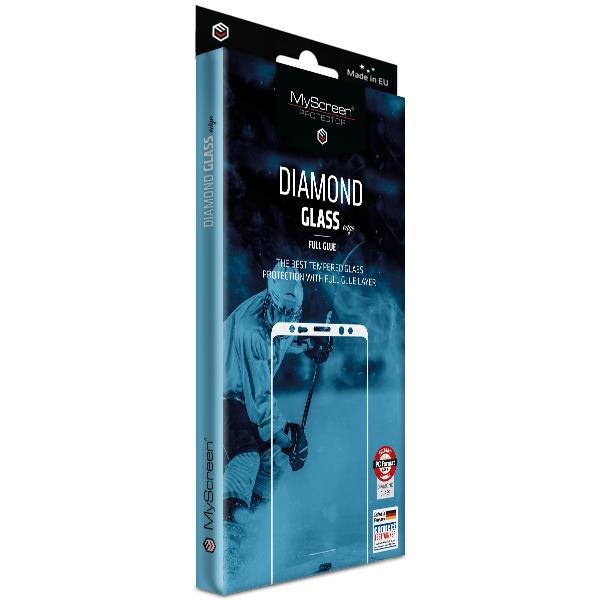 Ochranné sklo MyScreen Diamond Glass Edge FullGlue pre Nokia 2.4, čierna