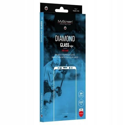 Ochranné sklo MyScreen Diamond Glass Edge FullGlue pre Apple iPhone 12 Mini, čierna