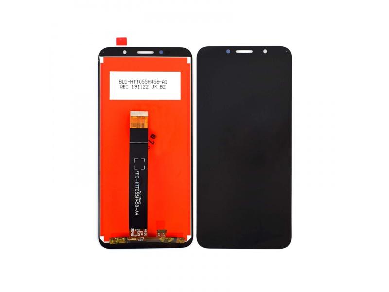 LCD + dotyková doska pre Motorola E6 Play, black (OEM)