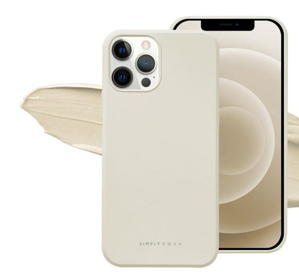 Zadný kryt Roar Space pre Apple iPhone 11 Pro, krémová