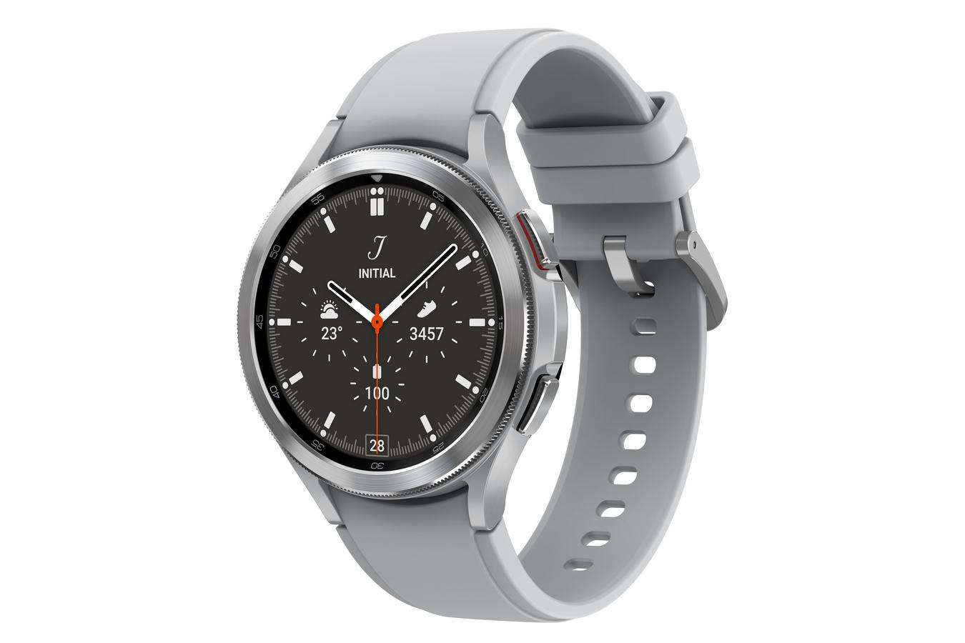 SAMSUNG Galaxy Watch 4 Classic Silver 46mm