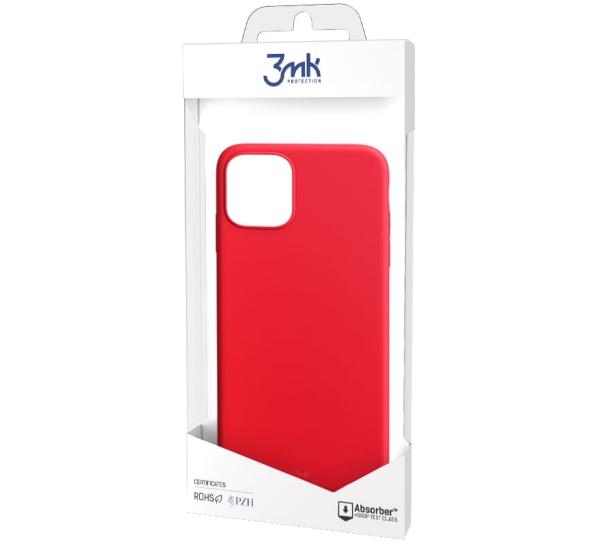Ochranný kryt 3 mastných kyselín Matt Case pre Apple iPhone 13 Pro Max, červená