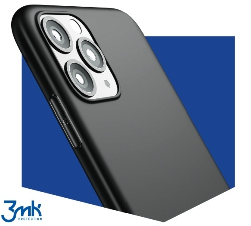 Ochranný kryt 3 mastných kyselín Matt Case pre Apple iPhone 13 Pro, červená