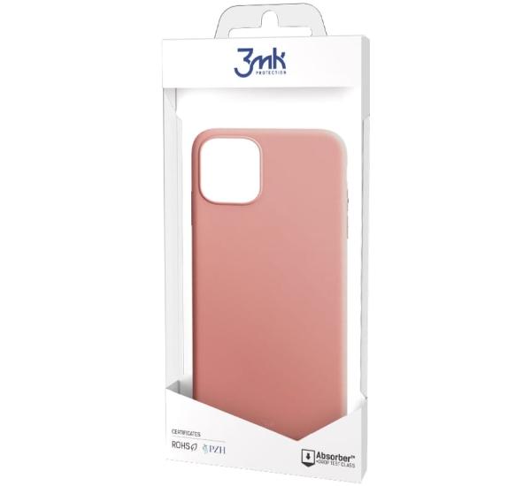 Ochranný kryt 3 mastných kyselín Matt Case pre Apple iPhone 13 Pro Max, ružová
