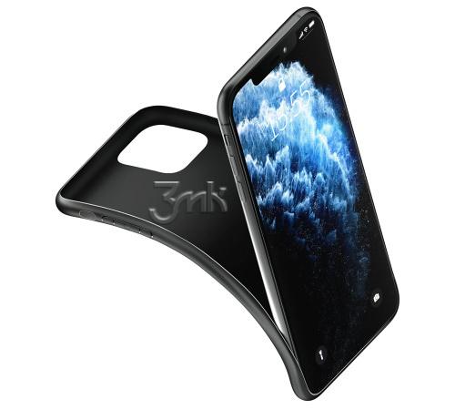 Ochranný kryt 3 mastných kyselín Matt Case pre Apple iPhone 13, čierna