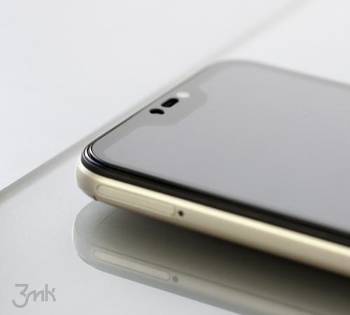 Tvrdené sklo 3 mastných kyselín HardGlass Max Lite pre Nokia X10, čierna