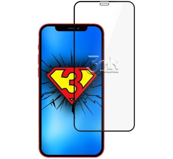 Tvrdené sklo 3 mastných kyselín HardGlass Max Lite pre Apple iPhone 13 Pro, čierna