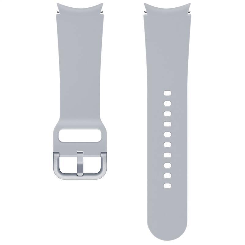 Sportovní řemínek Samsung ET-SFR86SSEGEU, velikost S/M 20mm, stříbrná