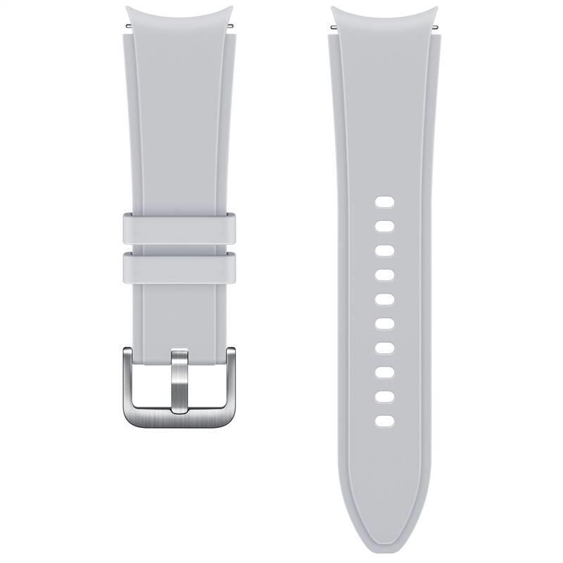 Sportovní řemínek s rýhováním Samsung ET-SFR88SSEGEU, velikost S/M 20mm, stříbrná
