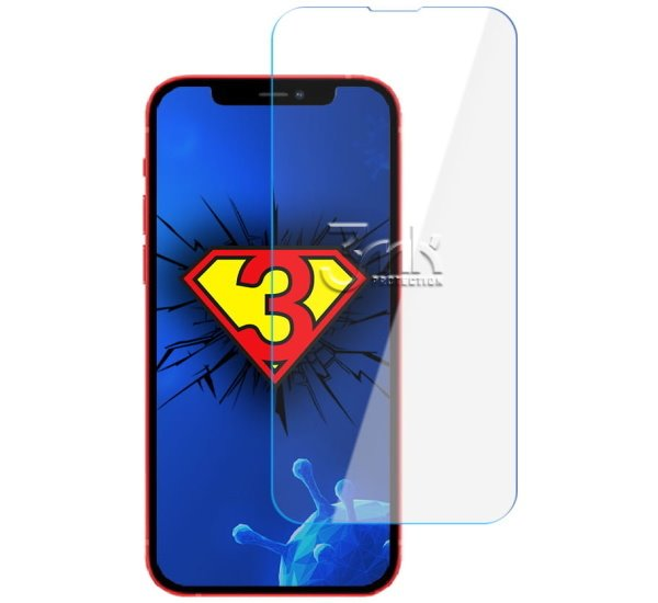 Fólie ochranná 3 mastných kyselín SilverProtection + pre Apple iPhone 13 Pro, antimikrobiálne