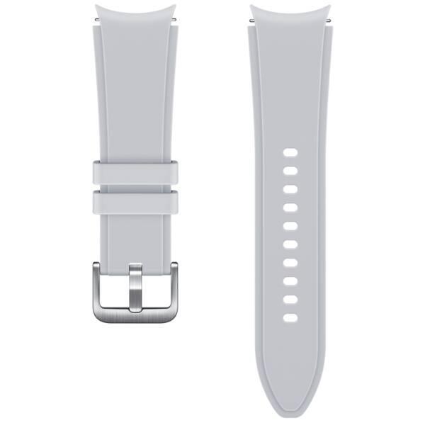 Sportovní řemínek s rýhováním Samsung ET-SFR89LSEGEU, velikost M/L 20mm, stříbrná