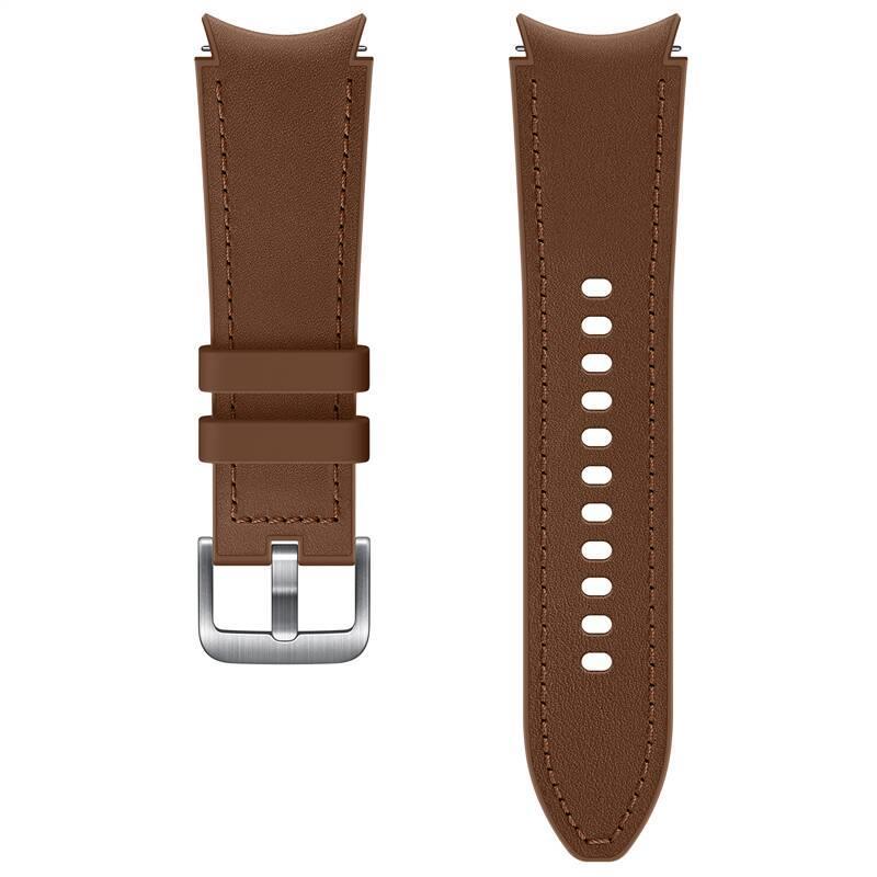 Hybridní kožený řemínek Samsung ET-SHR88SAEGEU, velikost S/M 20mm, hnědá