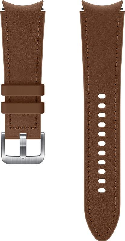 Hybridní kožený řemínek Samsung ET-SHR89LAEGEU, velikost M/L 20mm, hnědá