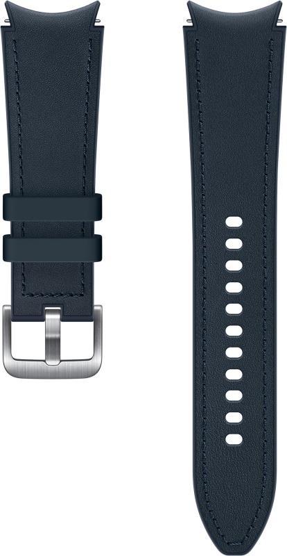Hybridní kožený řemínek Samsung ET-SHR89LNEGEU, velikost M/L 20mm, modrá