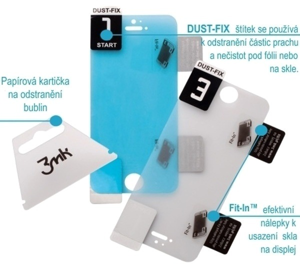 Hybridné sklo 3 mastných kyselín FlexibleGlass pre Apple iPhone 13 mini