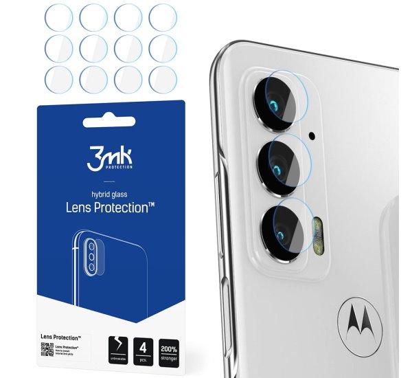 Hybridné sklo 3 mastných kyselín Lens ochrana kamery pre Motorola Edge 20 (4ks)