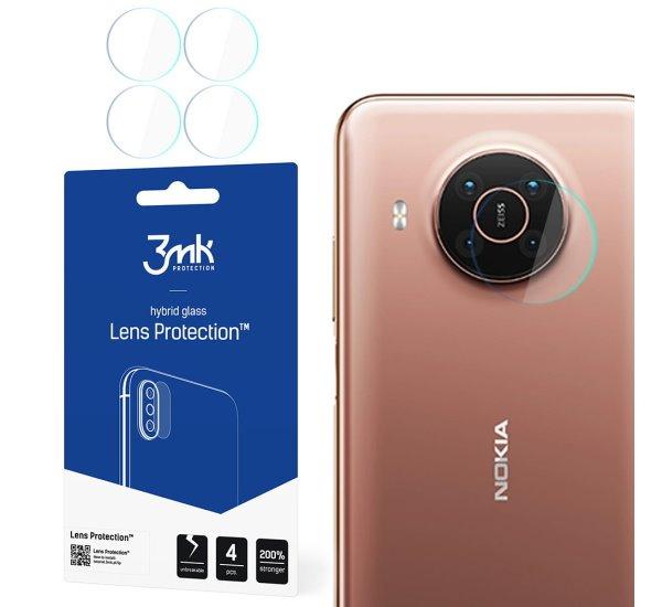 Hybridné sklo 3 mastných kyselín Lens ochrana kamery pre Nokia X10 (4ks)